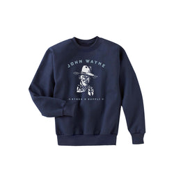 JW Sketch Crewneck Fleece - Navy
