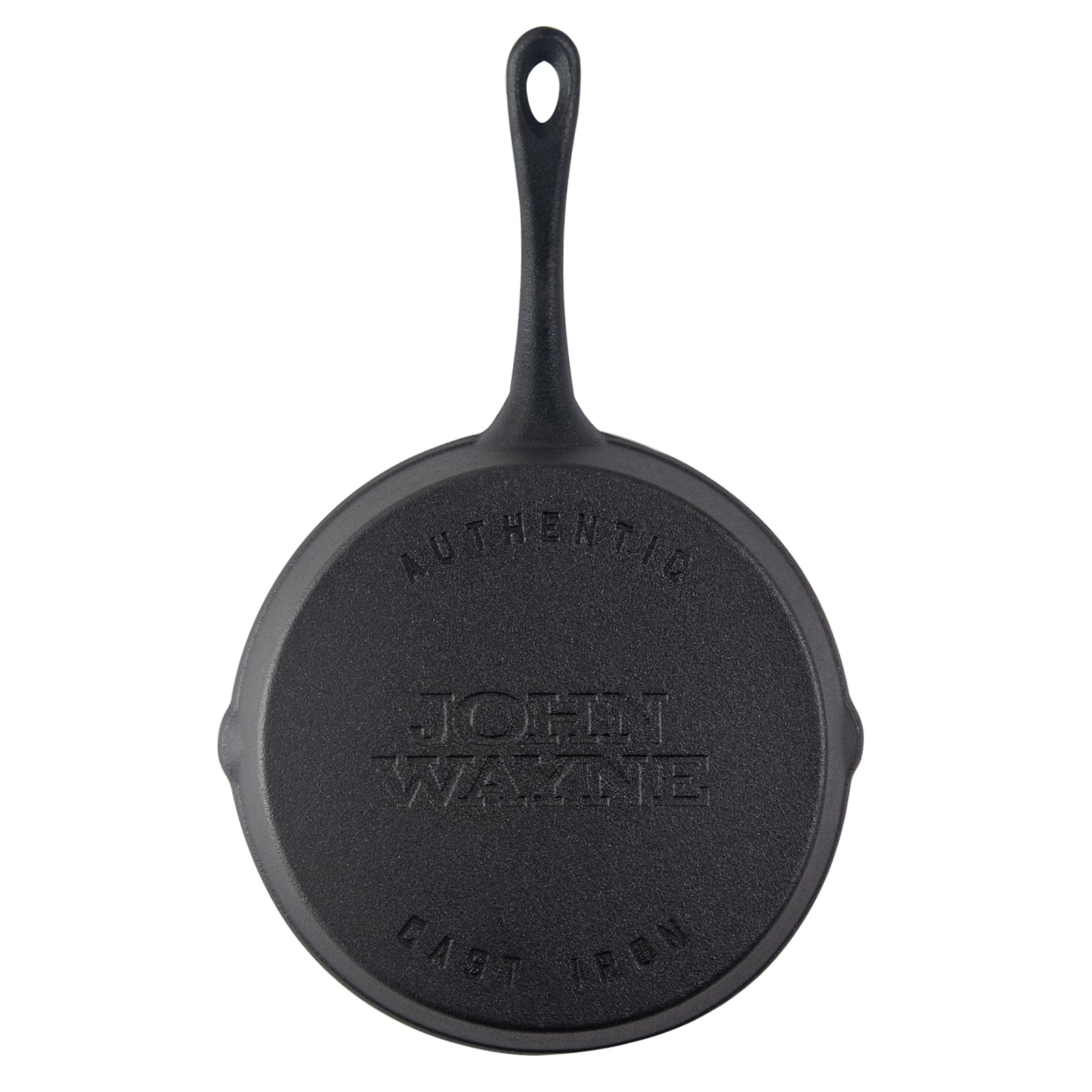 "John Wayne 10"" Pre-Seasoned Cast Iron Skillet"