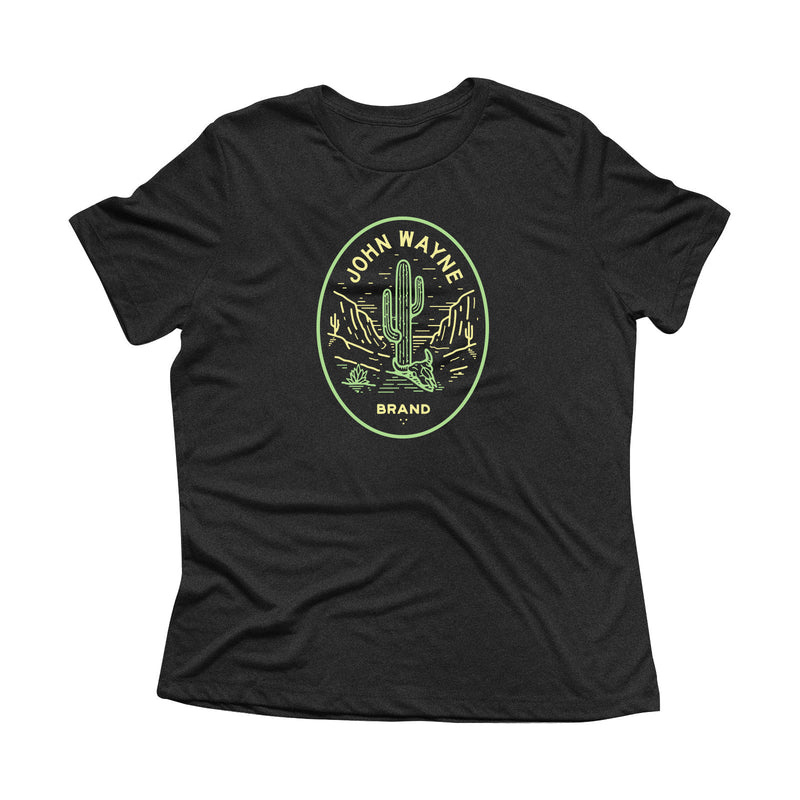 Women's Desert Black Tee