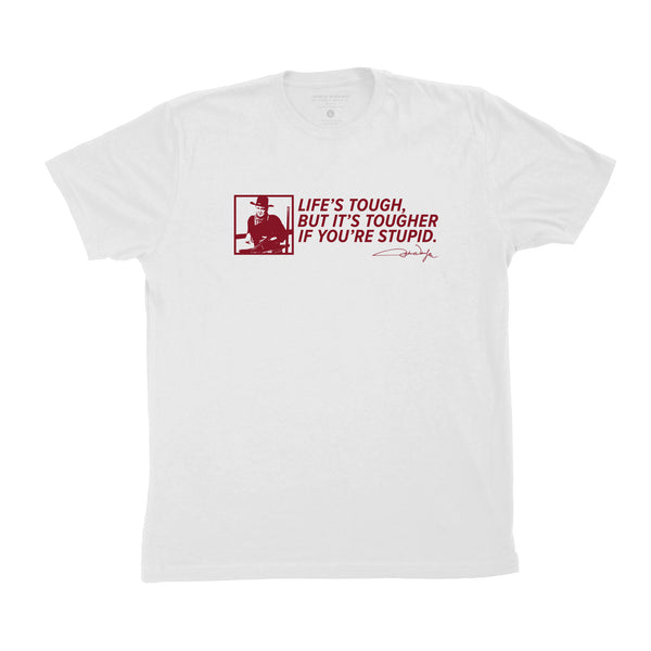 Life's Tough Quote Tee