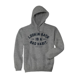 Lookin' Back Hoodie - Gunmetal Heather