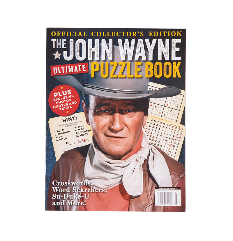 John Wayne Ultimate Puzzle Book Vol. 1