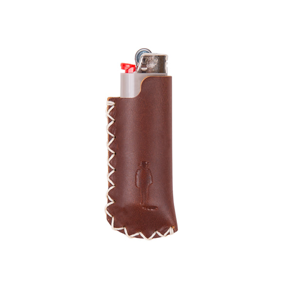 JW Silhouette Leather Lighter Cover