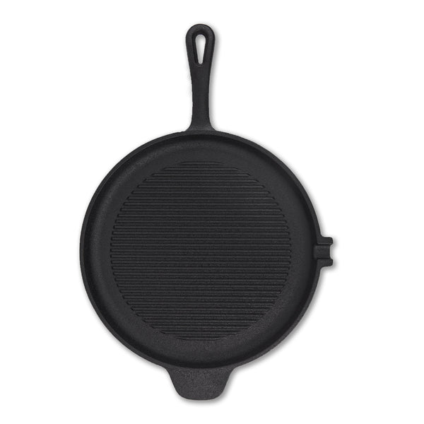 JW Cast Iron Shallow Grill Pan