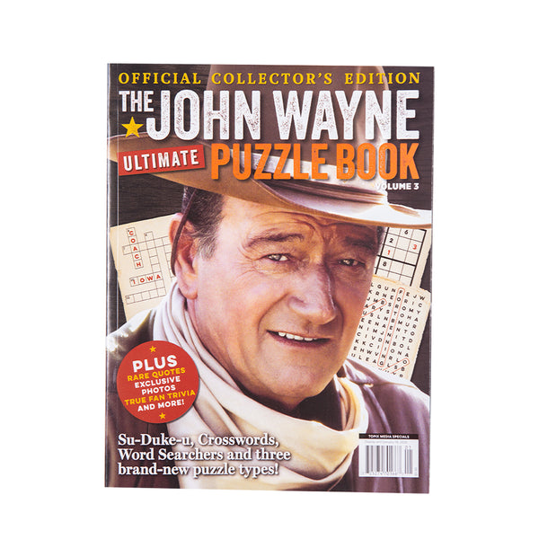 John Wayne Ultimate Puzzle Book Vol. 3