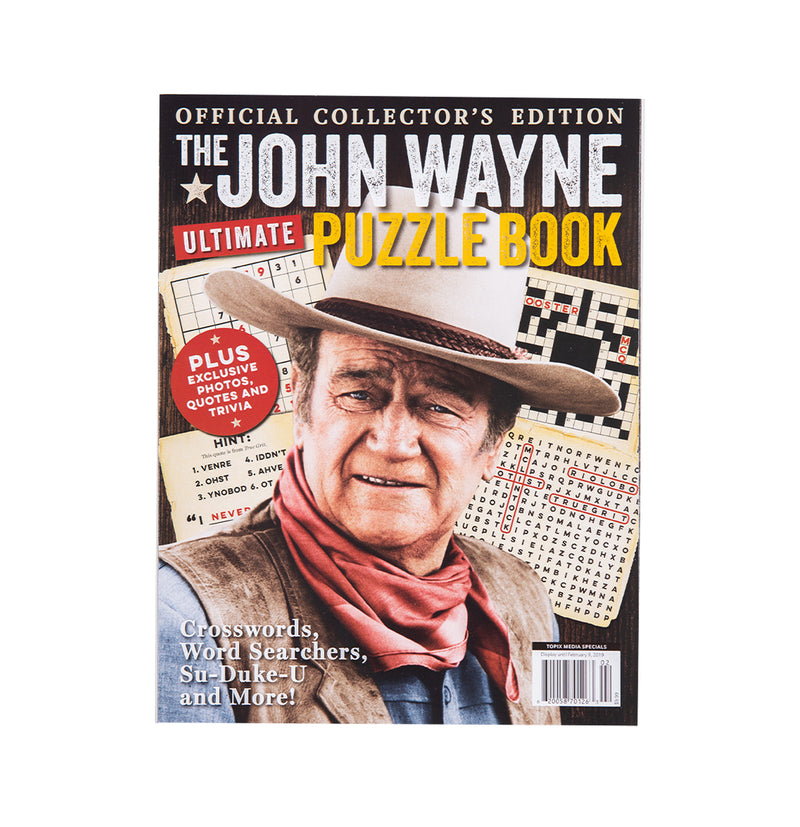 John Wayne Ultimate Puzzle Book Vol. 2