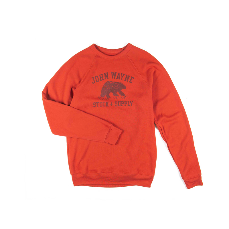 CMG Bear Claw Crewneck Fleece