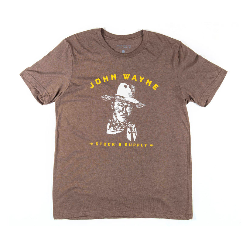 JW Sketch Tee- Heather brown