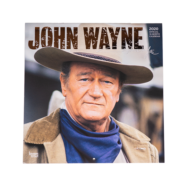 2020 John Wayne Calendar- Brown Trout