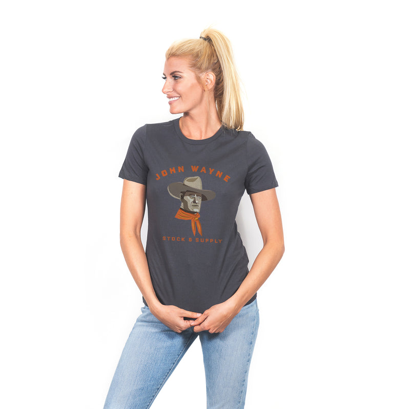 Women's JW by JF Tee - Charcoal