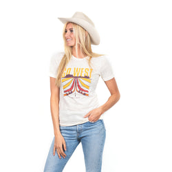 JW Women's Go West Tee