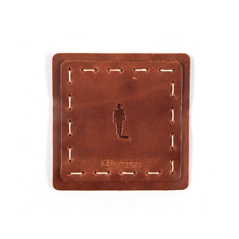 JW Leather Coasters