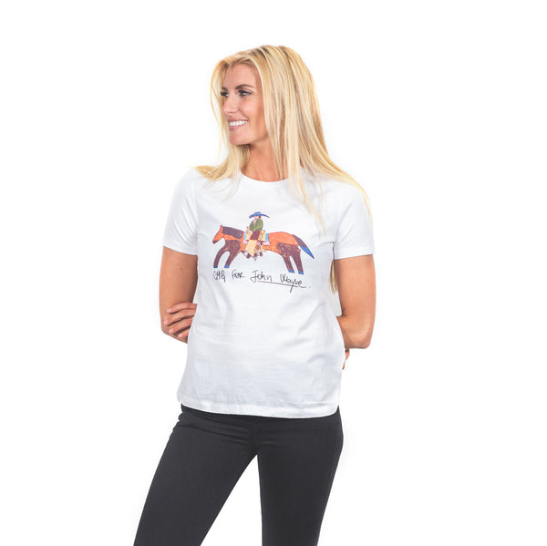 Women's CMG For John Wayne- White