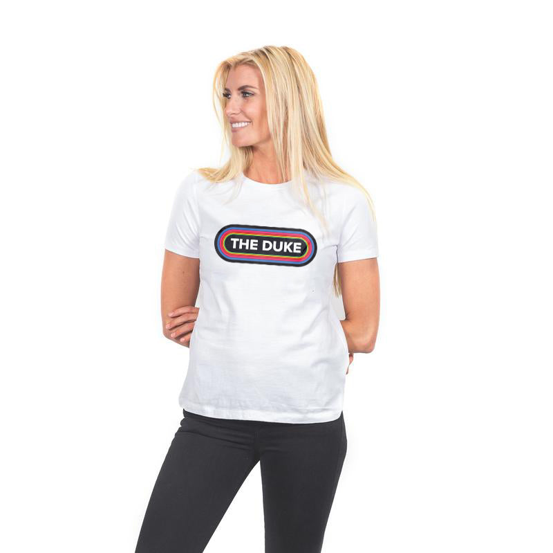 Women's Duke FM Tee- White