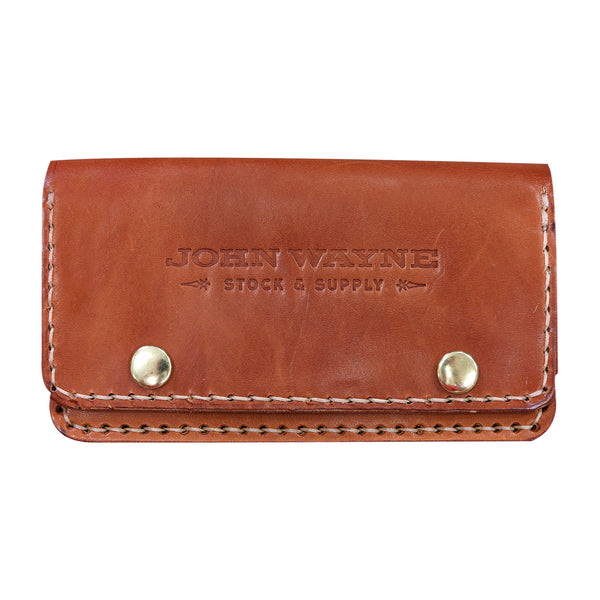 Official John Wayne Howl & Hide X John Wayne Barrel Aged Long Wallet