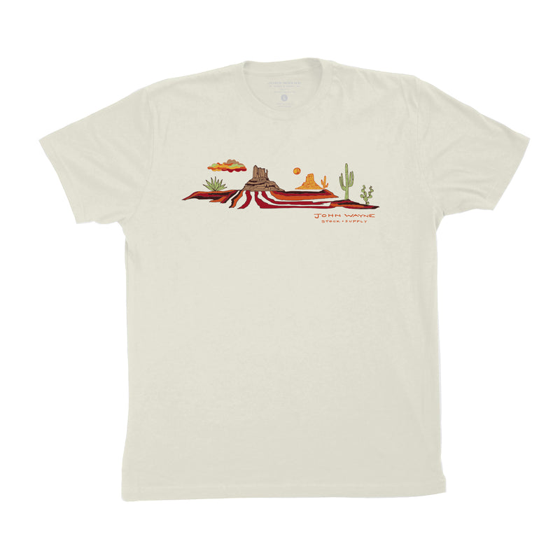 Monument Valley Tee - Off White