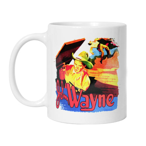 Official John Wayne Blue Steel Mug