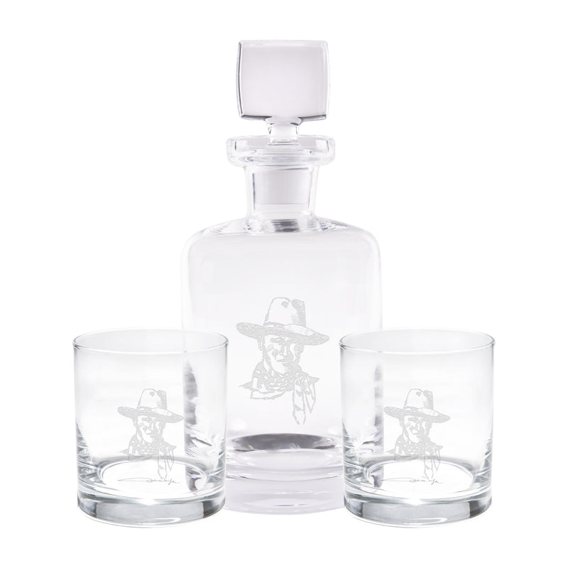 JW Sketch Decanter Set