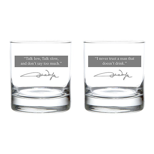 JW Quote Glass - Set of 2