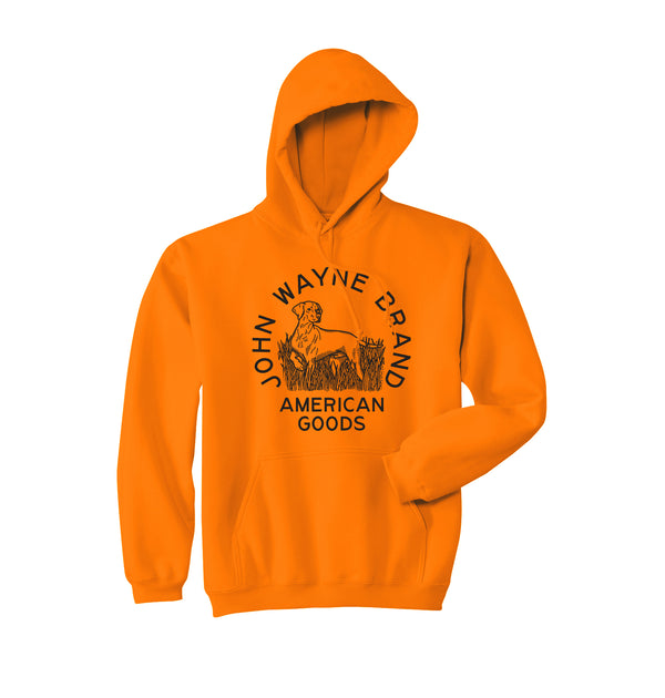 Pointer Hoodie- Orange