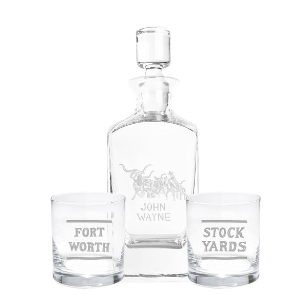 Stockyard Decanter Set (Series 3)