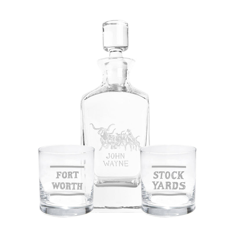 Stock Yard Decanter Set