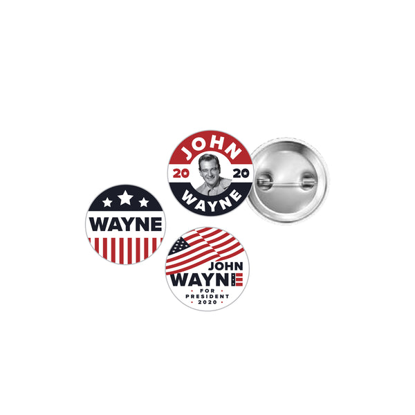 JW For President Button Set