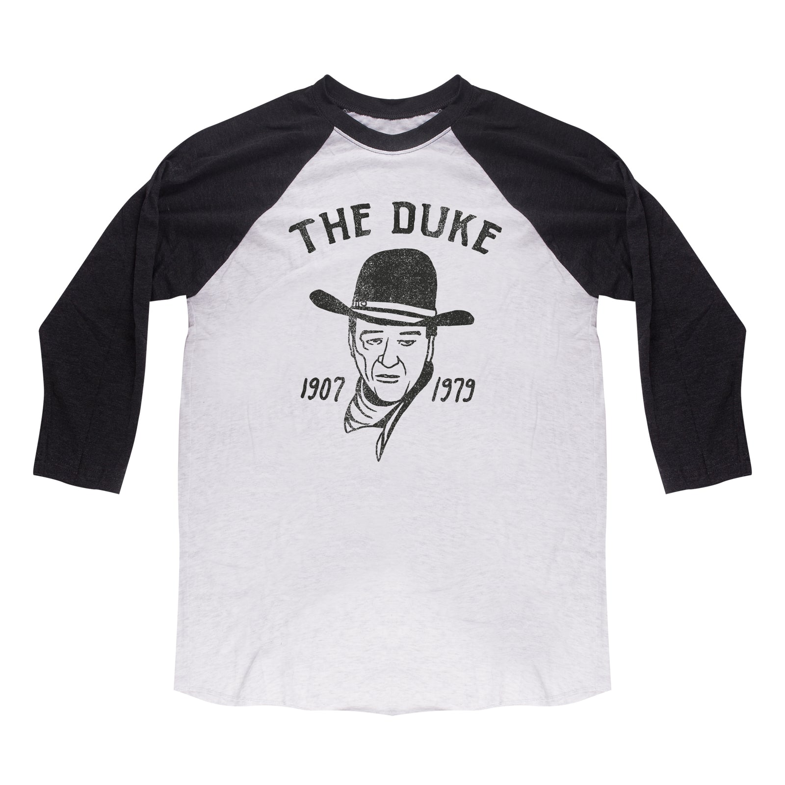 Official John Wayne The Duke Raglan