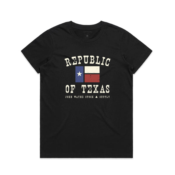Republic Of Texas Women's Tee