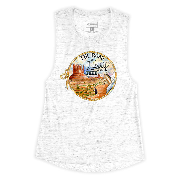 Women's Road To Liberty Sleeveless Tee