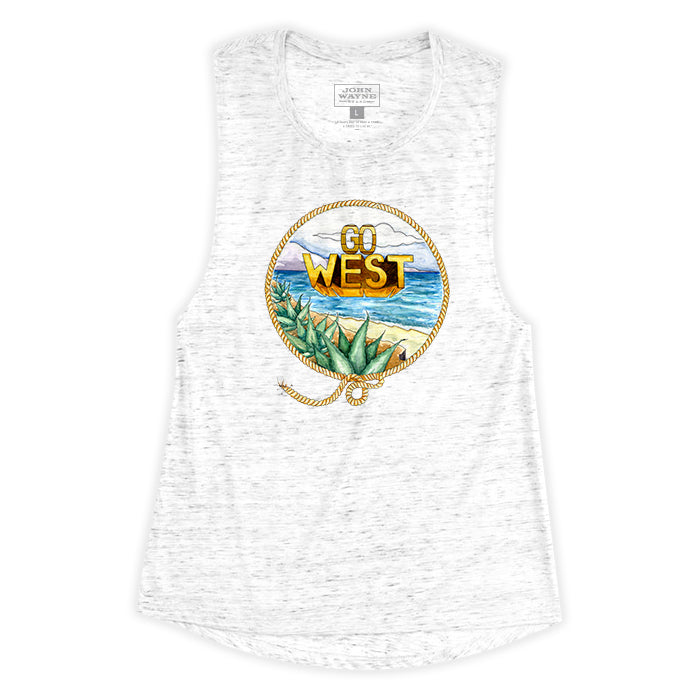 Women's Go West Sleeveless Tee