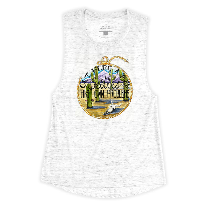Women's Problem Solver Sleeveless Tee