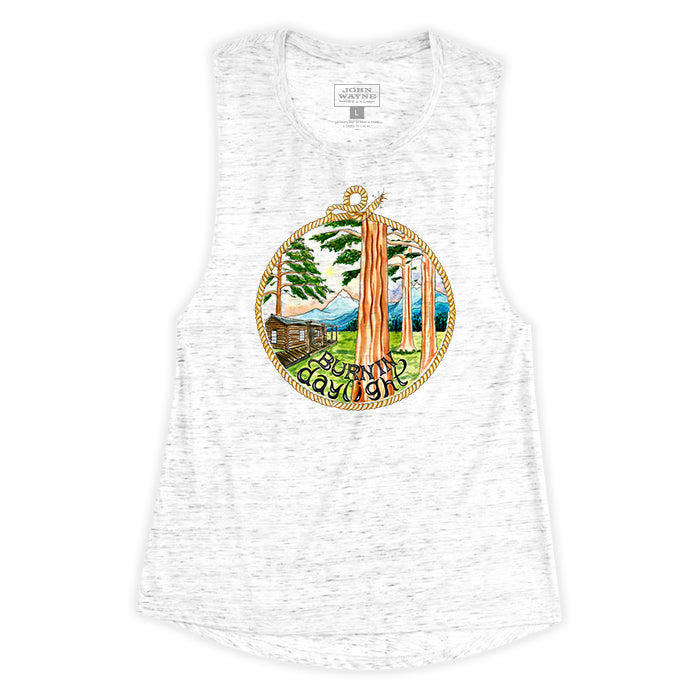 Women's Burning Daylight Sleeveless Tee