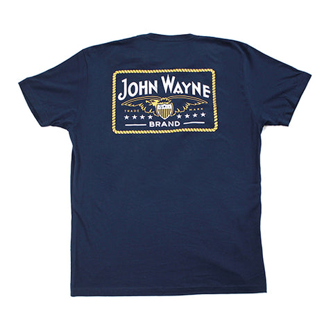 Navy Talk Low Tee