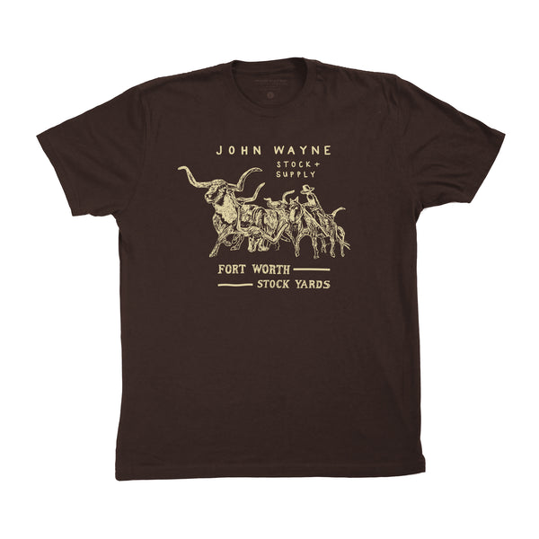 Stockyard Tee- Brown