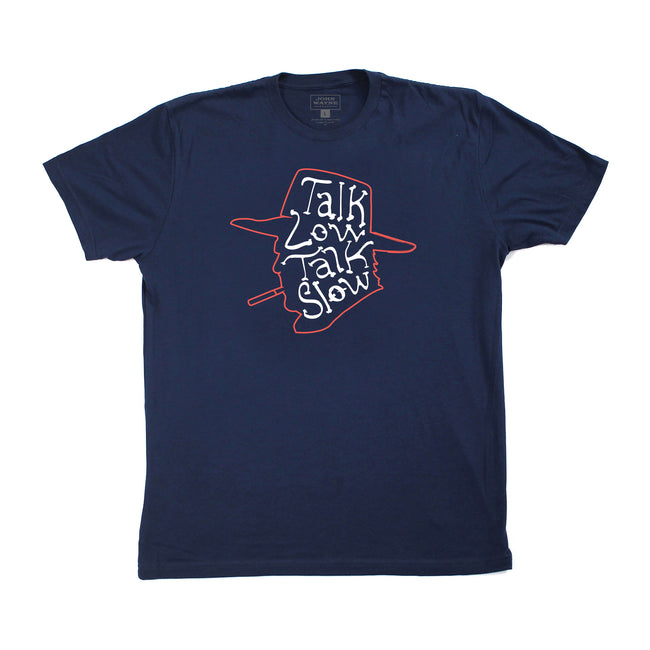 Official John Wayne Navy Talk Low Tee