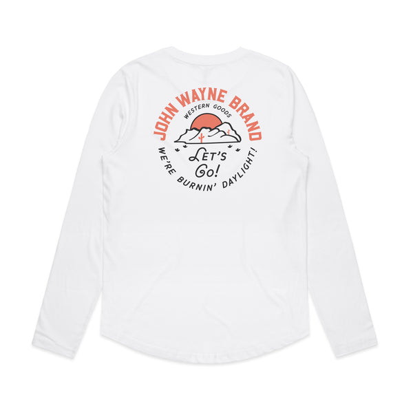Women's Lets Go L/S