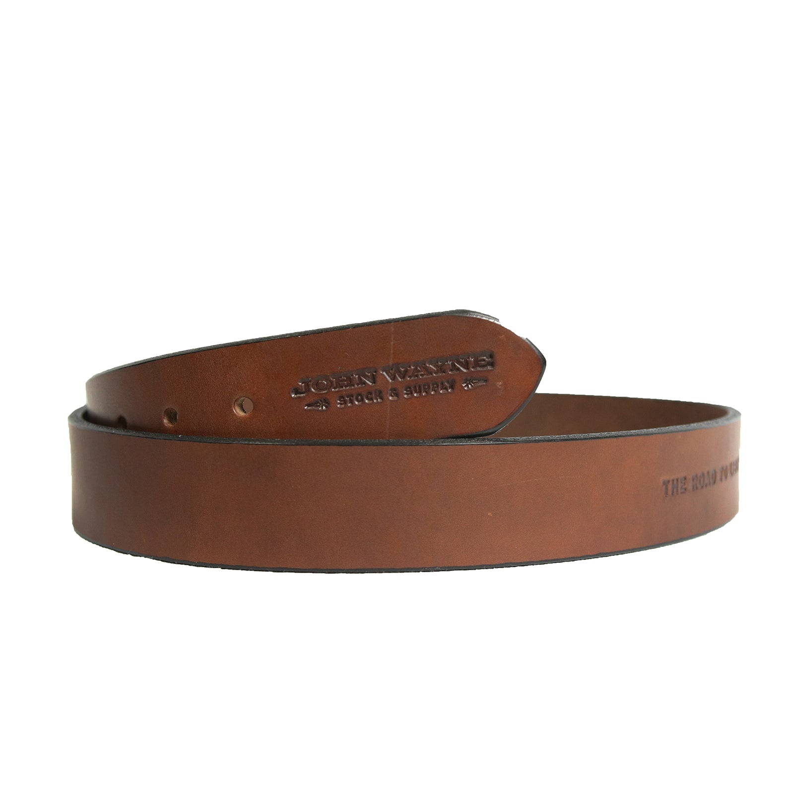 Official John Wayne The John Wayne Working Man's Belt - Brown