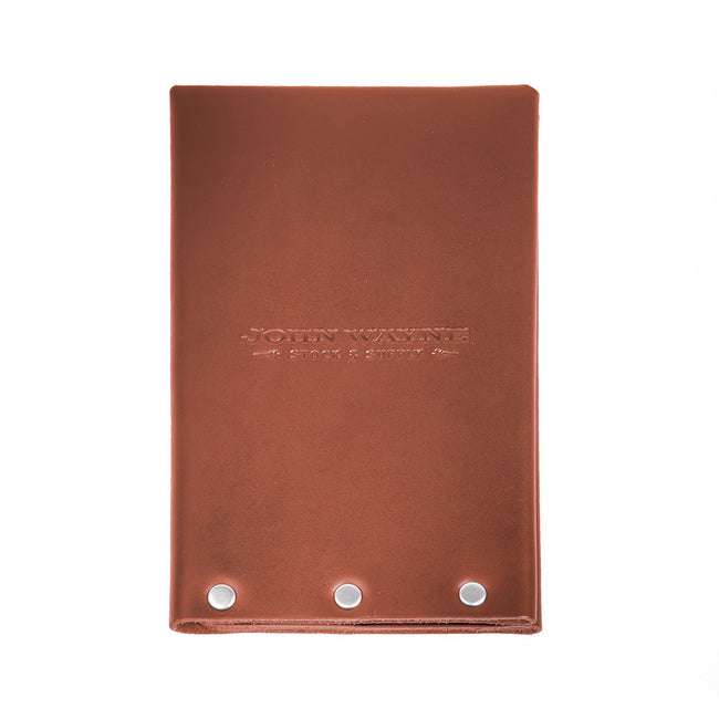 Official John Wayne The John Wayne Field Journal - Brown