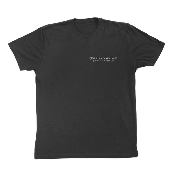 The Quote Tee- Charcoal