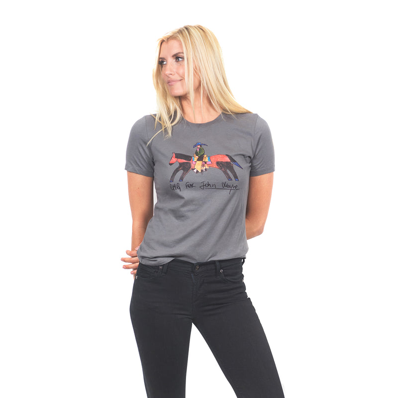 Women's CMG For John Wayne- Asphalt