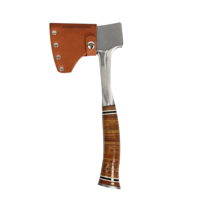 Official John Wayne The John Wayne Leather Hatchet