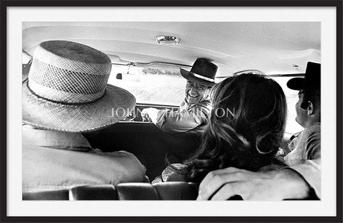 Official John Wayne JOHN WAYNE IN CAR, 1966