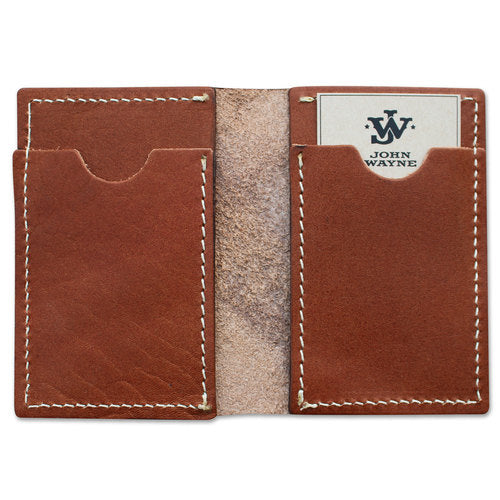 JW Credit Card Fold Wallet - Brown