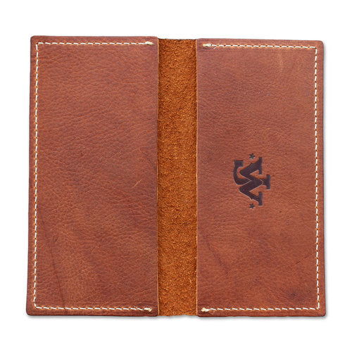 JW Checkbook Cover - Brown
