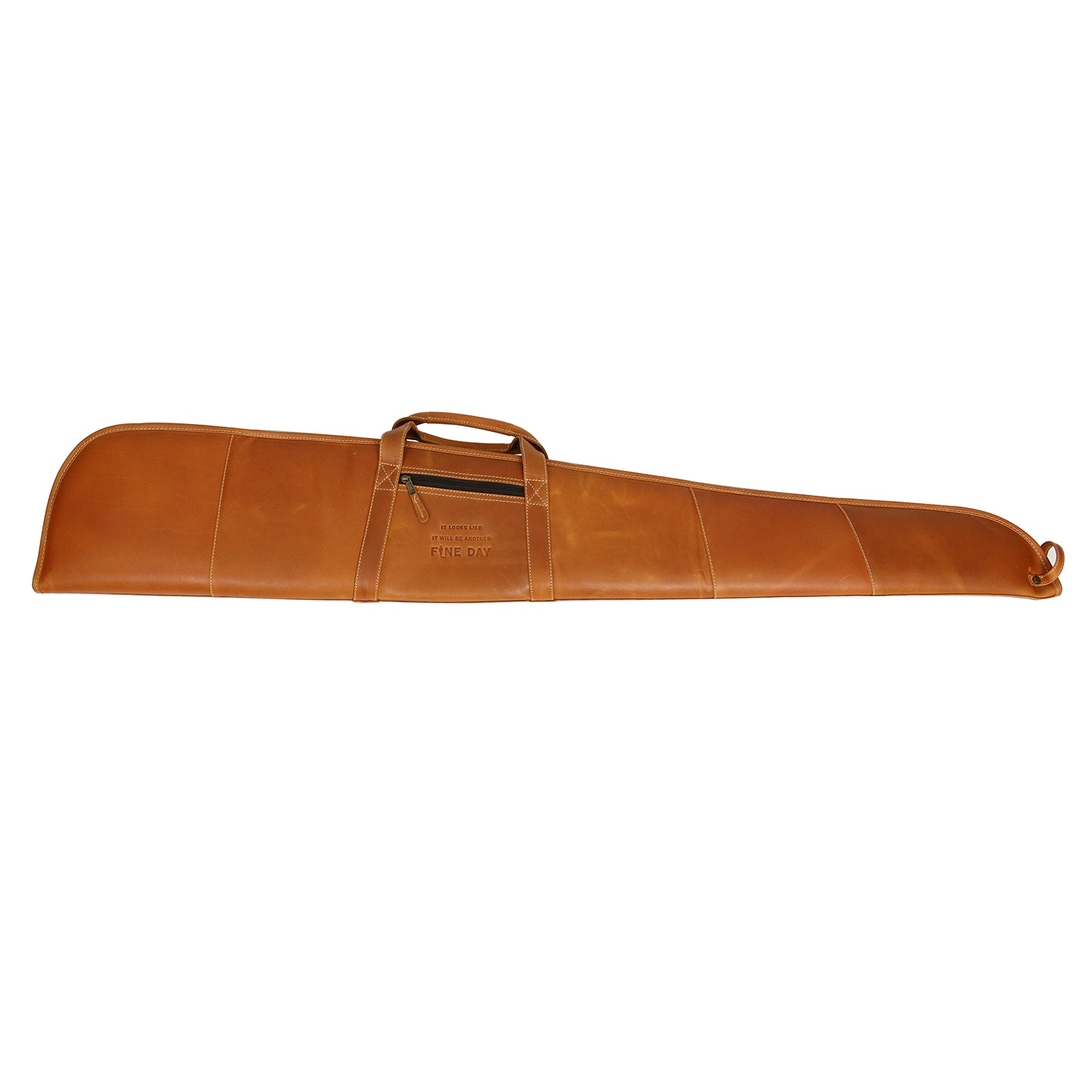 Official John Wayne The John Wayne Leather Gun Case