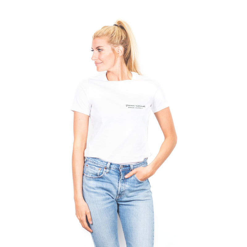 Women's The Quote Tee- White