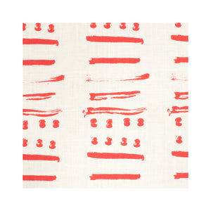 14 Layers Geranium Belgian Linen Fabric