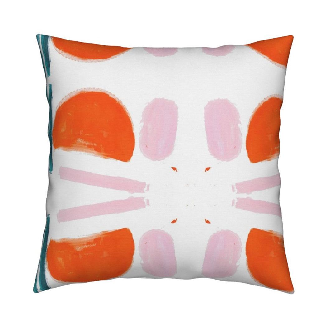 Purrfecto Clementine Pillow