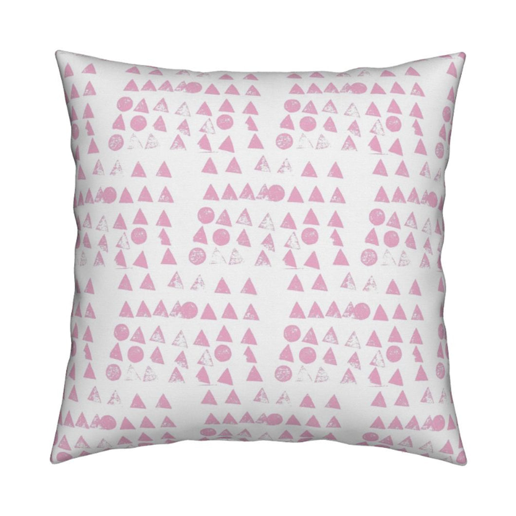 Moon + Tree Bubblegum Pillow